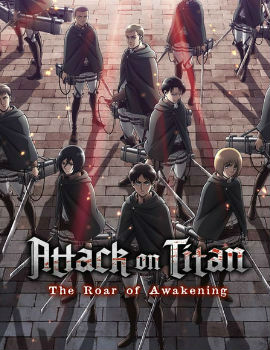Attack on Titan: The Roar of Awakening Movie English Subbed