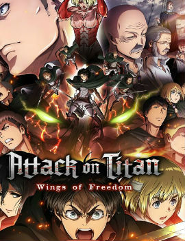 Attack on Titan: Wings of Freedom Movie English Subbed